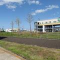 858 近隣(中野5丁目)の津波避難タワー(仙台市での第1号)