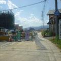 442 高田小学校跡地に建設中の陸前高田市庁舎