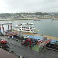 378 マリンゲートから見た観光船発着場