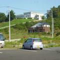 393 キャピタルホテル1000から見た高田高校