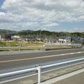 986 坂元駅付近の住宅建設状況(国道6号西側)