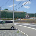 086 補修工事中の女川病院と介護施設