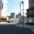 434 釜石・ホテルサンルート前交差点から(東向き)