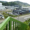 265 避難場所から見た現在の佐藤水産(グレイの建物の右側)