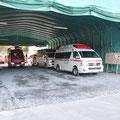 0765 釜石・大槌消防の車庫