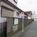 ブロック塀を結構多く見かけた
