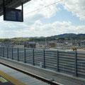 002 山下駅のホームからの風景