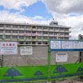 0594 解体工事が始まった荒浜小学校(後に震災遺構として保存に決定)