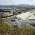 137 海岸防潮堤の工事