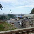 403 島越の防潮堤工事