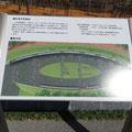 791 南浜の石巻市慰霊碑配置図