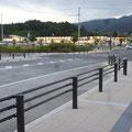 392 BTR陸前高田駅から見た商業施設アパッセ