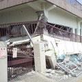仙台市内のビルの倒壊