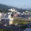310 ホテル一景閣から見た気仙沼ホテル観洋