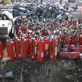 災害廃棄物の分別状況