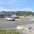 0771「大槌駅前から町の中心部方向を見る」
