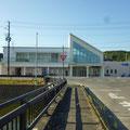 167 旧野蒜駅(東松島市・震災復興伝承館)
