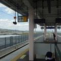 005 山下駅のホームからの風景