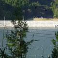 273 雄勝湾の防潮堤の状況