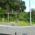 262 佐藤水産の中国実習生の避難路入り口(山祗神社)