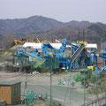 津軽石・宮古運動公園の処理プラント