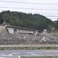 0404 JR気仙沼線 清水浜駅付近の被害