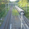824 夜ノ森駅に侵入する常磐線電車