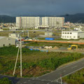 302 ホテル一景閣から見た南郷復興住宅