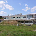 0136 富岡駅近隣のビルの被害