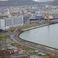 446 日和山から見た石巻市中心街方向