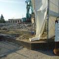 810 富岡第一小学校の解体現場