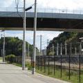 1309 富岡駅・跨線橋・福島第2原発(毎年のアングル)