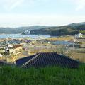 149 志津川小学校から見た風景