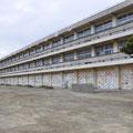 0549 渡波小学校 1階の被害(2階も一部被害)