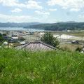 349 志津川中学校からの遠景