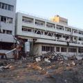南三陸志津川病院、3階部分まで壊滅