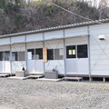 0792 江岸寺の仮設事務所