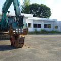 817 解体工事中の富岡第二小学校