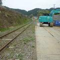 712 山田線の状況(安渡地区)