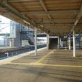 129 富岡駅の中(ホーム)