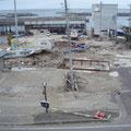 普代村太田名部地区の漁港側、甚大な被害。死者1名