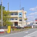 0099 富岡消防署(閉鎖中)での通行規制(大熊町、双葉町には入れず)
