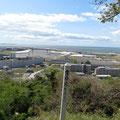 「806」 日和山から南浜方向(左に鎮守大橋工事と排水機場工事)
