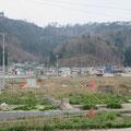 2347 田ノ浜地区の被害を受けていない住居地区(高台移転か?)