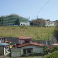 252 大槌町立大槌学園小中一貫教育校建設の様子
