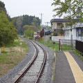 716 山田線の状況(吉里吉里駅から波板方向)