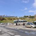 0186 高台の伊里前小学校と仮設住宅