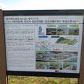 1346 ひろの防災緑地案内図(多重防御の説明)