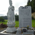 923 井田川河口の慰霊碑