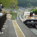 715 山田線の状況(吉里吉里駅から大槌方向)